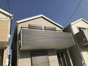 バルコニー屋根設置前 before