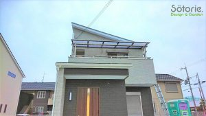 バルコニー屋根 設置後