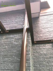 台風被害 テラス屋根 設置後